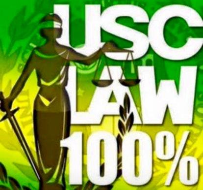 USC Law 100%